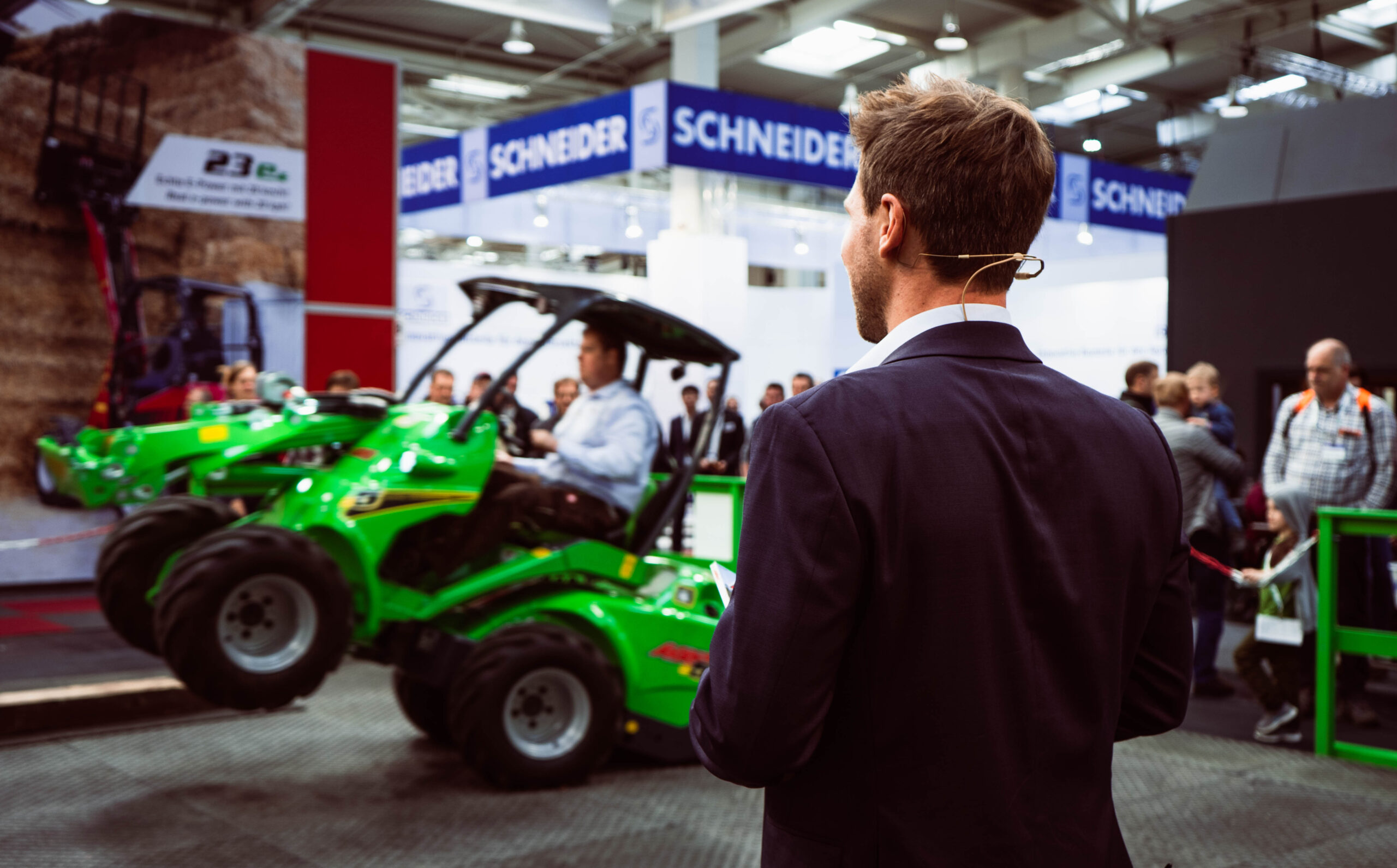 Agritechnica 2019 Hannover Messemoderation Tobias Witton